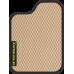 Цвет коврика: Бежевый Цвет окантовки:  Чёрный