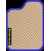 Цвет коврика: Бежевый Цвет окантовки: Сиреневый