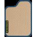 Цвет коврика: Бежевый Цвет окантовки:  Синий