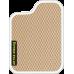 Цвет коврика: Бежевый Цвет окантовки: Белый