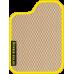 Цвет коврика: Бежевый Цвет окантовки:  Жёлтый