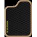 Цвет коврика: Чёрный Цвет окантовки:  Бежевый
