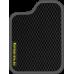 Цвет коврика: Чёрный Цвет окантовки:  Тёмно-серый