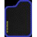 Цвет коврика: Чёрный Цвет окантовки: Сиреневый