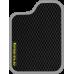 Цвет коврика: Чёрный Цвет окантовки:  Светло-серый