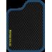 Цвет коврика: Чёрный Цвет окантовки:  Синий
