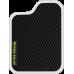 Цвет коврика: Чёрный Цвет окантовки: Белый