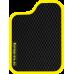 Цвет коврика: Чёрный Цвет окантовки:  Жёлтый