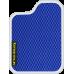 Цвет коврика: Синий Цвет окантовки: Белый