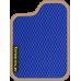 Цвет коврика: Синий Цвет окантовки:  Бежевый