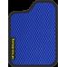 Цвет коврика: Синий Цвет окантовки:  Чёрный