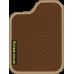 Цвет коврика: Коричневый Цвет окантовки:  Бежевый