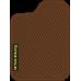 Цвет коврика: Коричневый Цвет окантовки:  Коричневый
