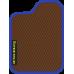 Цвет коврика: Коричневый Цвет окантовки: Сиреневый