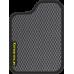 Цвет коврика: Серый Цвет окантовки:  Чёрный