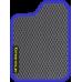 Цвет коврика: Серый Цвет окантовки: Сиреневый