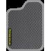 Цвет коврика: Серый Цвет окантовки:  Светло-серый