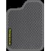 Цвет коврика: Серый Цвет окантовки:  Тёмно-серый