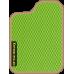 Цвет коврика: Салатовый Цвет окантовки:  Бежевый