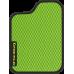Цвет коврика: Салатовый Цвет окантовки:  Чёрный