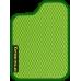 Цвет коврика: Салатовый Цвет окантовки:  Зелёный