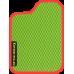 Цвет коврика: Салатовый Цвет окантовки:  Красный