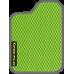 Цвет коврика: Салатовый Цвет окантовки:  Тёмно-серый