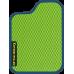 Цвет коврика: Салатовый Цвет окантовки:  Синий