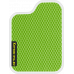 Цвет коврика: Салатовый Цвет окантовки: Белый