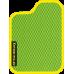 Цвет коврика: Салатовый Цвет окантовки:  Жёлтый