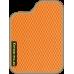 Цвет коврика: Оранжевый Цвет окантовки:  Бежевый