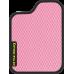 Цвет коврика: Розовый Цвет окантовки:  Чёрный