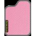 Цвет коврика: Розовый Цвет окантовки:  Тёмно-серый