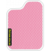 Цвет коврика: Розовый Цвет окантовки: Белый