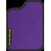 Цвет коврика: Фиолетовый Цвет окантовки:  Чёрный