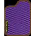 Цвет коврика: Фиолетовый Цвет окантовки:  Коричневый