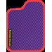 Цвет коврика: Фиолетовый Цвет окантовки:  Красный