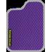 Цвет коврика: Фиолетовый Цвет окантовки:  Светло-серый