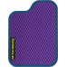 Цвет коврика: Фиолетовый Цвет окантовки:  Синий