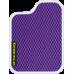 Цвет коврика: Фиолетовый Цвет окантовки: Белый