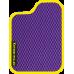 Цвет коврика: Фиолетовый Цвет окантовки:  Жёлтый