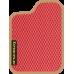 Цвет коврика: Красный Цвет окантовки:  Бежевый
