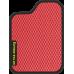 Цвет коврика: Красный Цвет окантовки:  Чёрный