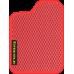 Цвет коврика: Красный Цвет окантовки:  Красный