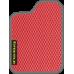 Цвет коврика: Красный Цвет окантовки:  Тёмно-серый