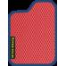 Цвет коврика: Красный Цвет окантовки:  Синий