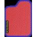 Цвет коврика: Красный Цвет окантовки: Сиреневый