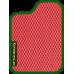 Цвет коврика: Красный Цвет окантовки:  Зелёный