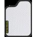 Цвет коврика: Белый Цвет окантовки:  Чёрный