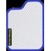 Цвет коврика: Белый Цвет окантовки: Сиреневый